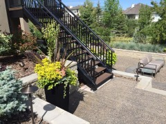 New stair access