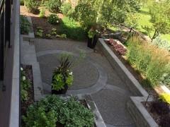West courtyard